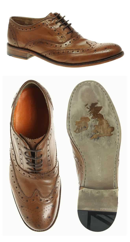 Ben Sherman Qewy Leather Brogues
