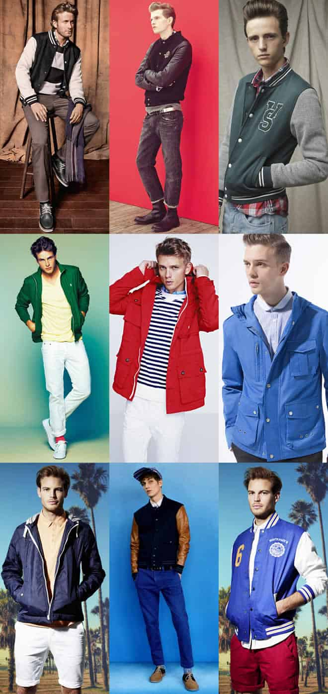 Men's Sports Inspired Jackets