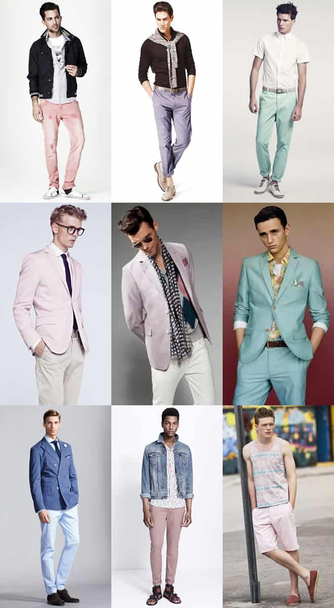 Pastel Pants For Men
