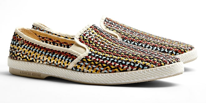 Rivieras Multicolour Weave Mesh Lord Zelco Shoes