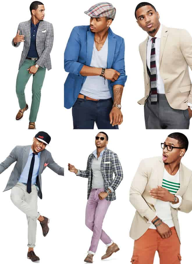 GQ.com Sports Jacket Photoshoot with Trey Songz