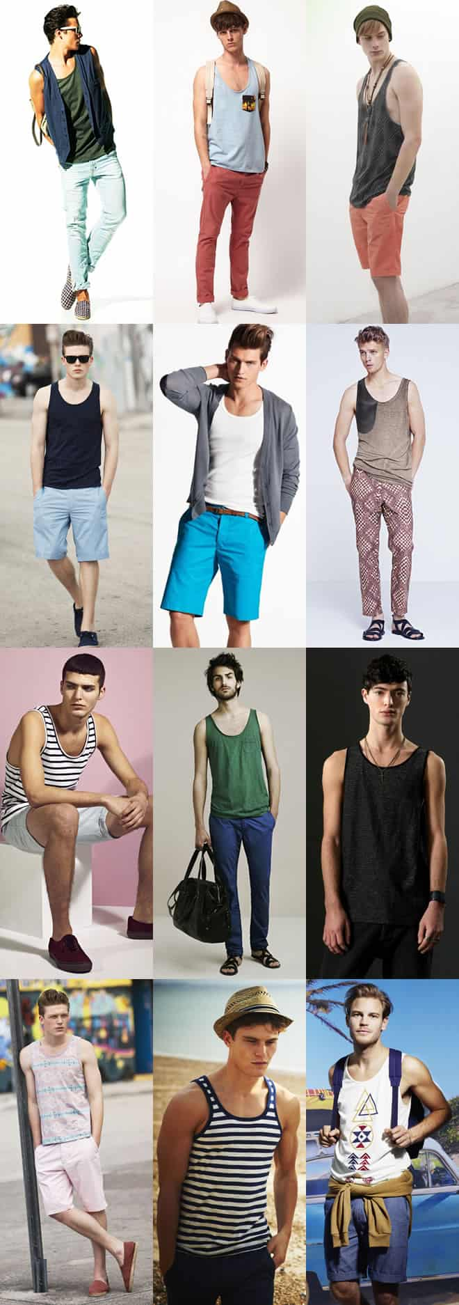 Men's Vests Lookbook