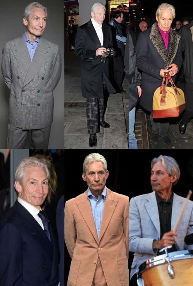 Charlie Watts Men's Style Lookbook