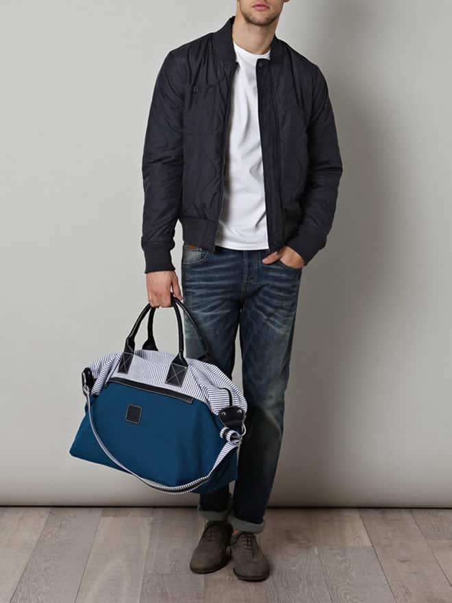 Calabrese Lipari Navy Bag