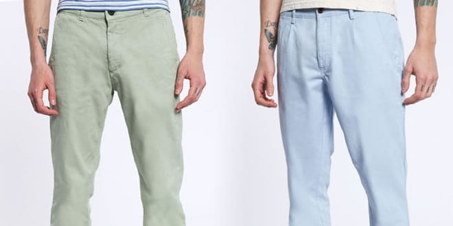 Urban Outfitters Spring/Summer 2012 Chino Collection