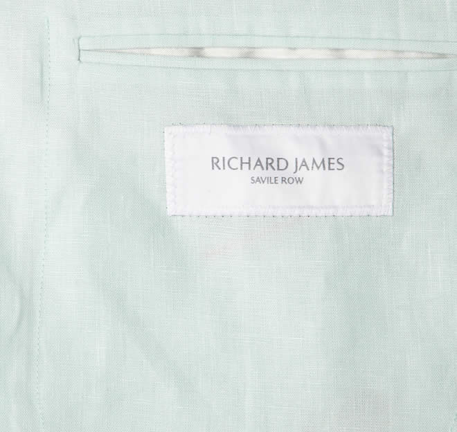 Richard James Slim-Fit Linen Blazer