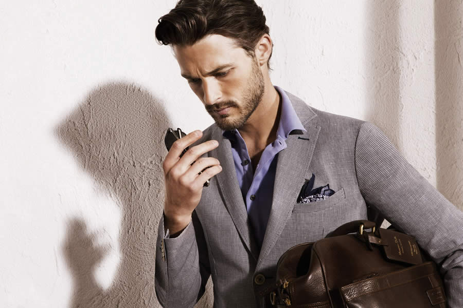 Massimo Dutti May 2012 Men's Lookbook - Image #1