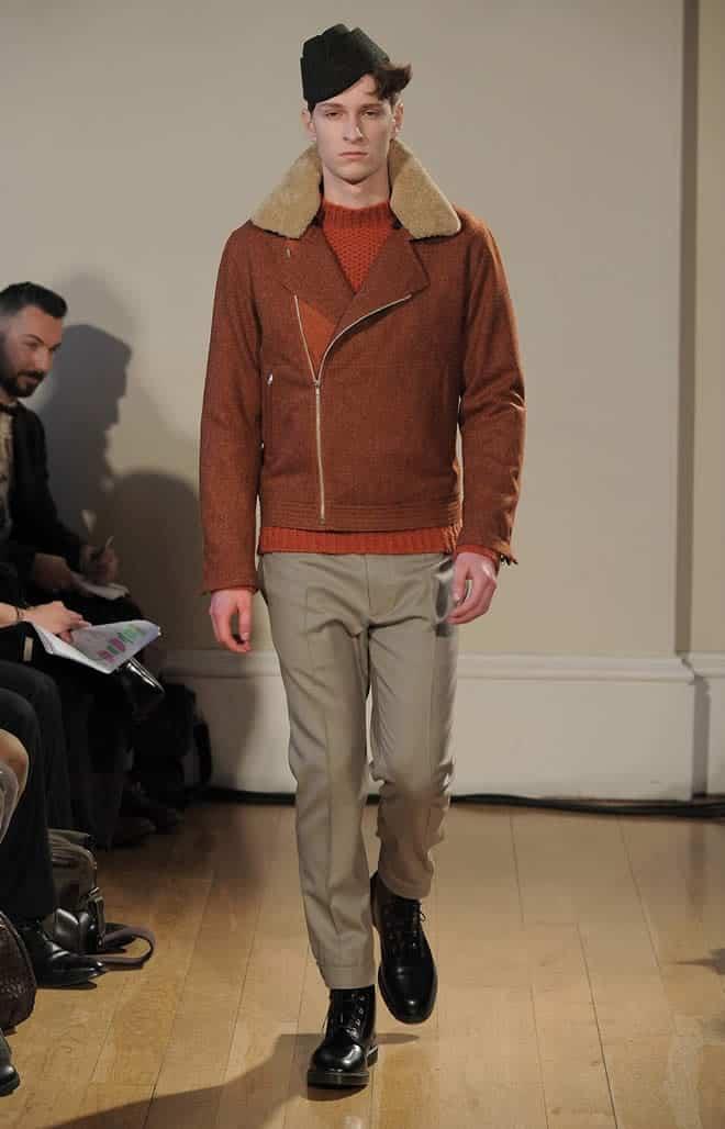 Lou Dalton AW12 Tweed Biker Jacket