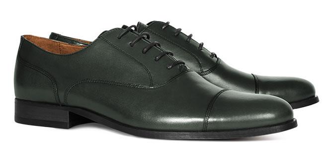 Reiss Bologne Toe Cap Oxford Shoe