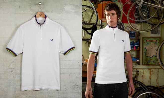 Fred Perry Bradley Wiggins Cycling Shirt