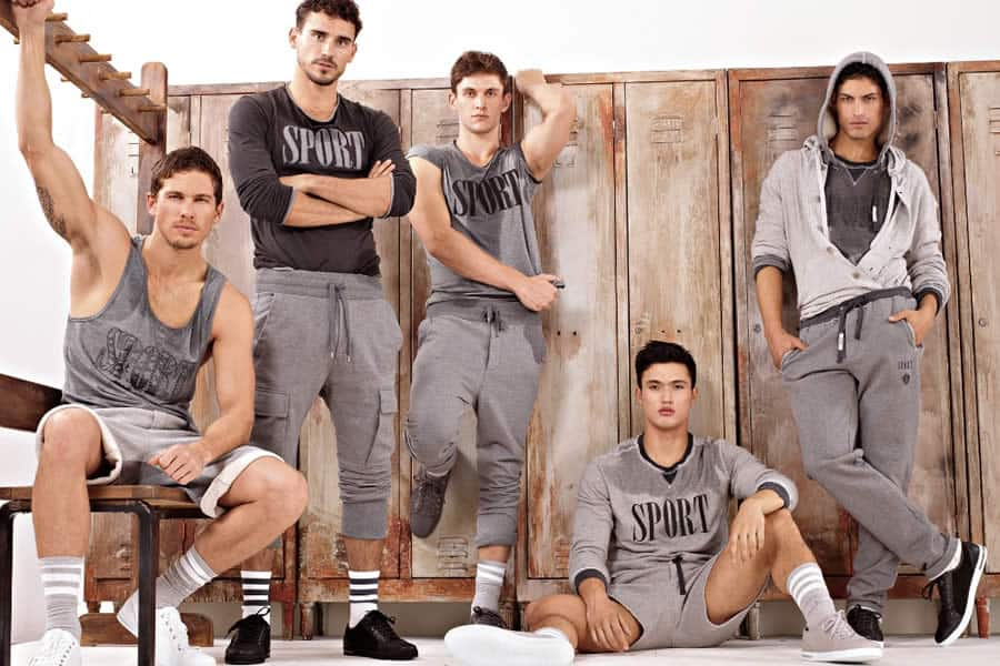 Dolce & Gabbana Autumn/Winter 2012 Gym & Sportswear Men's Lookbook - Image #3