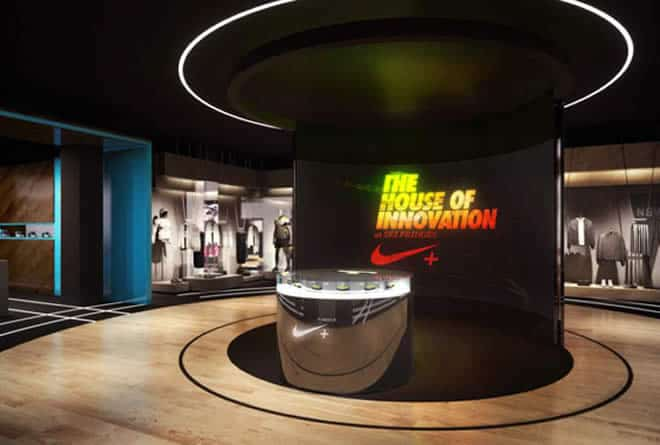 The Nike House of Innovation at Selfridges