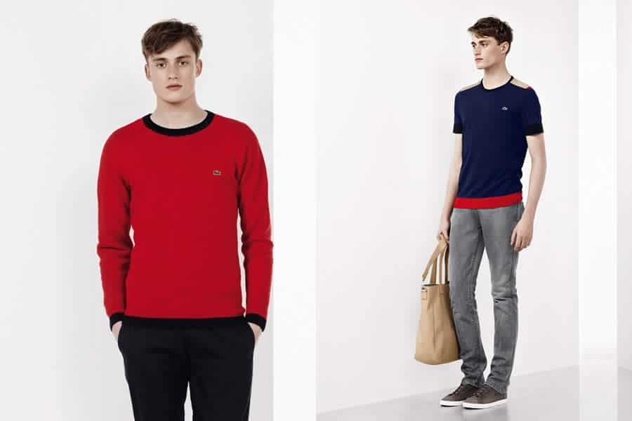Lacoste Autumn/Winter 2012 Color Blocking Men's Lookbook - Image #3