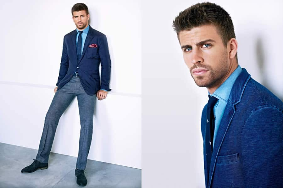 Gerard Piqué For H.E. By Mango 2012 Men's Lookbook - Image #4
