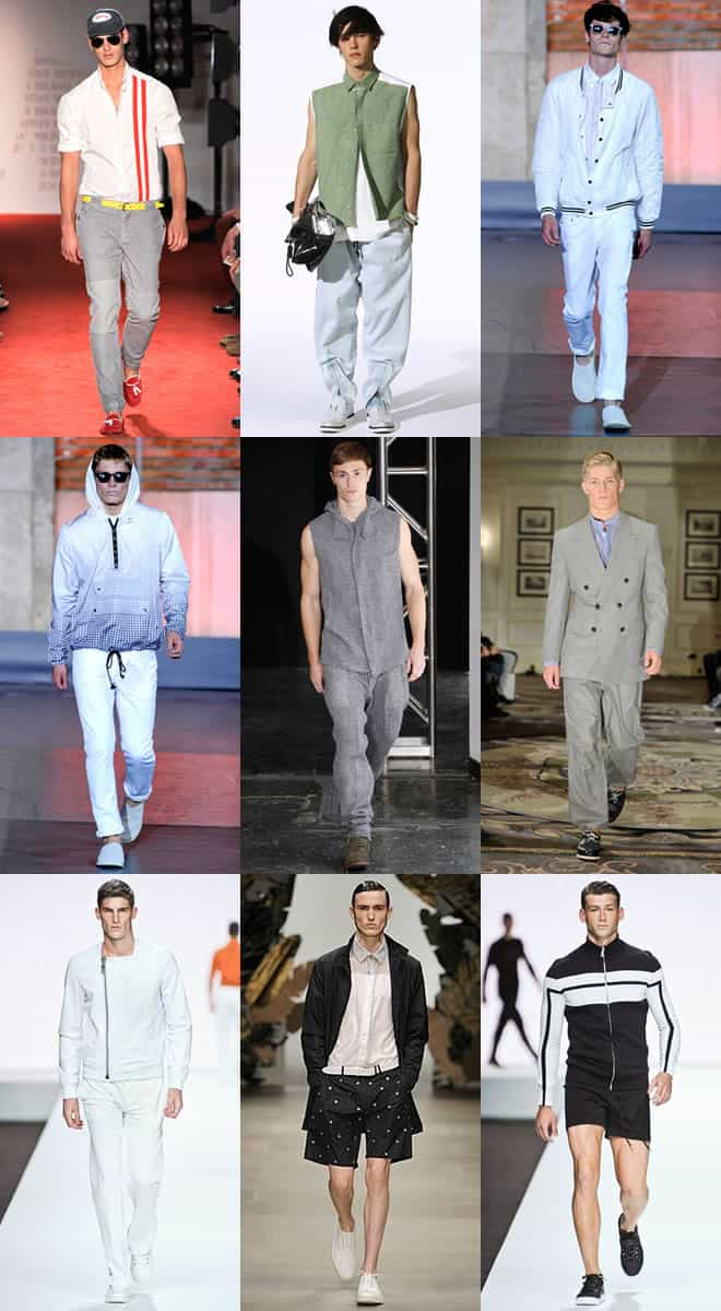 Sports Luxe on the SS13 Catwalks