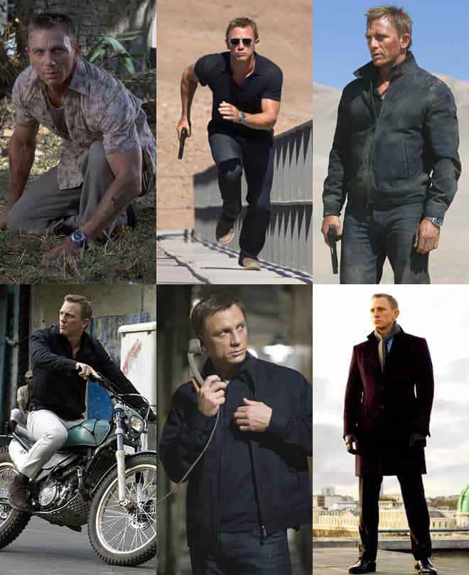 Signature James Bond Look - Smart Casual