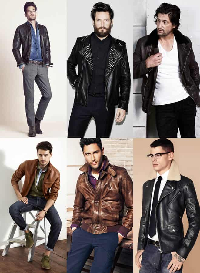 2e8ad53a1 MENS LEATHER JACKETS FASHIONBEANS | Nice Fashion