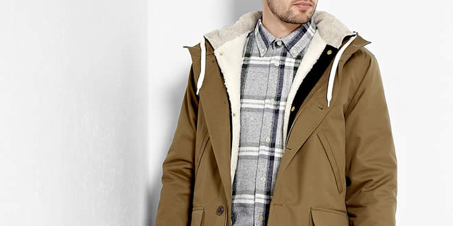 Our Legacy Dry Olive Liner Shield Parka