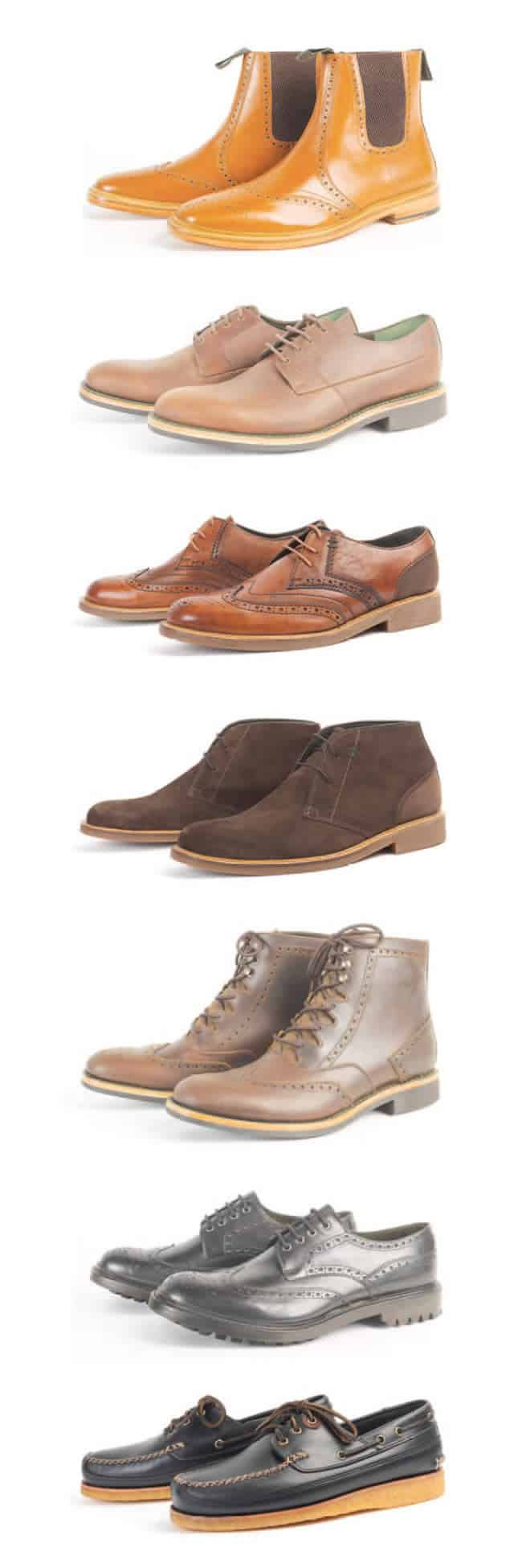 Barbour Footwear Collection
