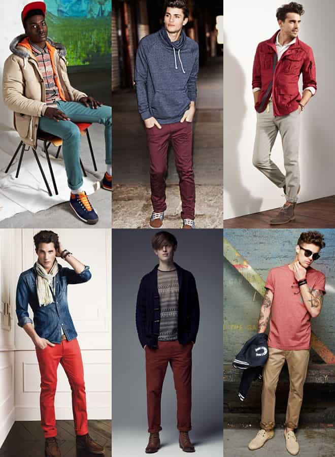 Men's High Street Chinos Lookbook