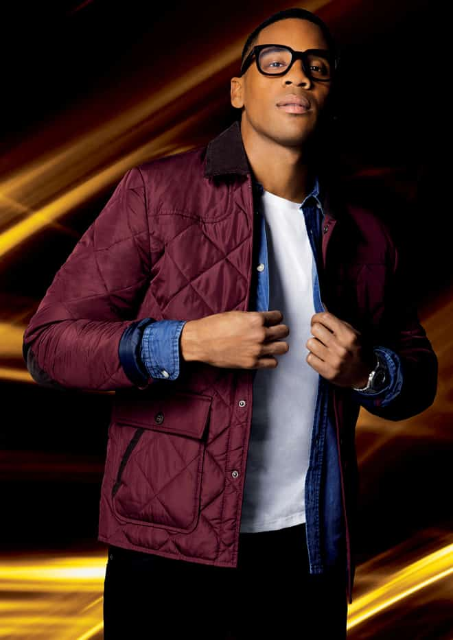 Reggie Yates the new face of Burton Menswear