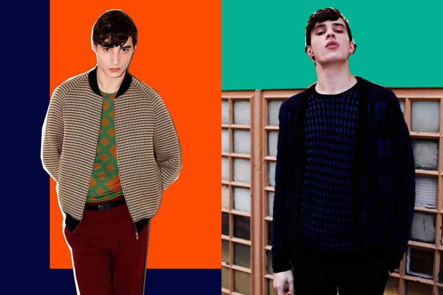 Jonathan Saunders Autumn/Winter 2012 Men's Lookbook - Image #3