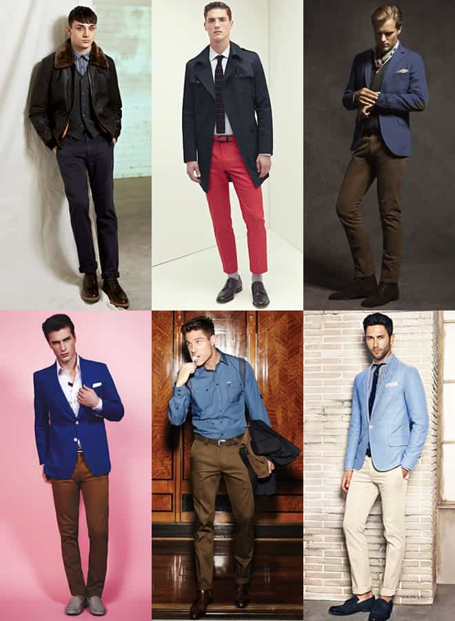 Men's Smart Chinos Lookbook