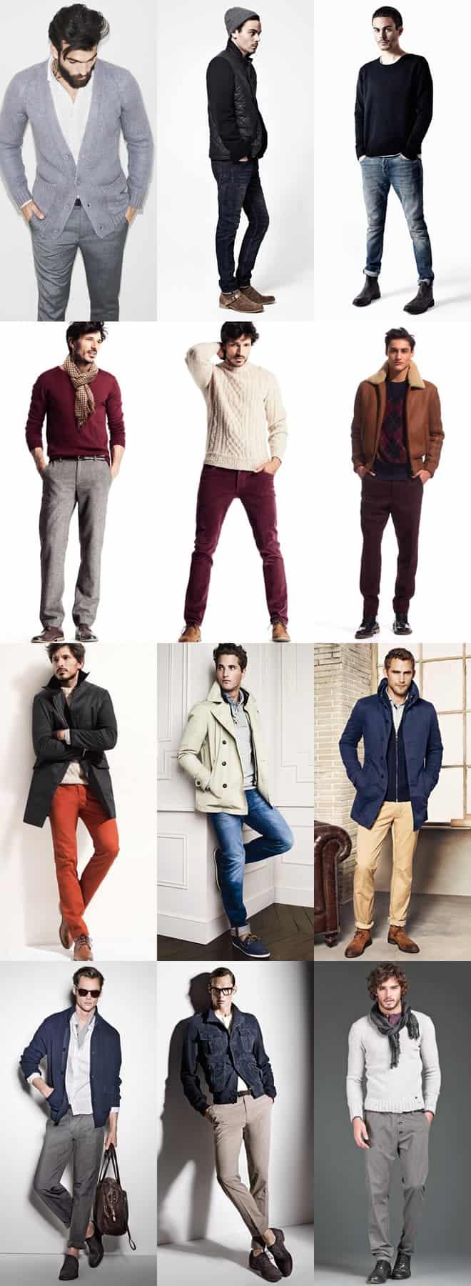 Стильно одетый полный мужчина