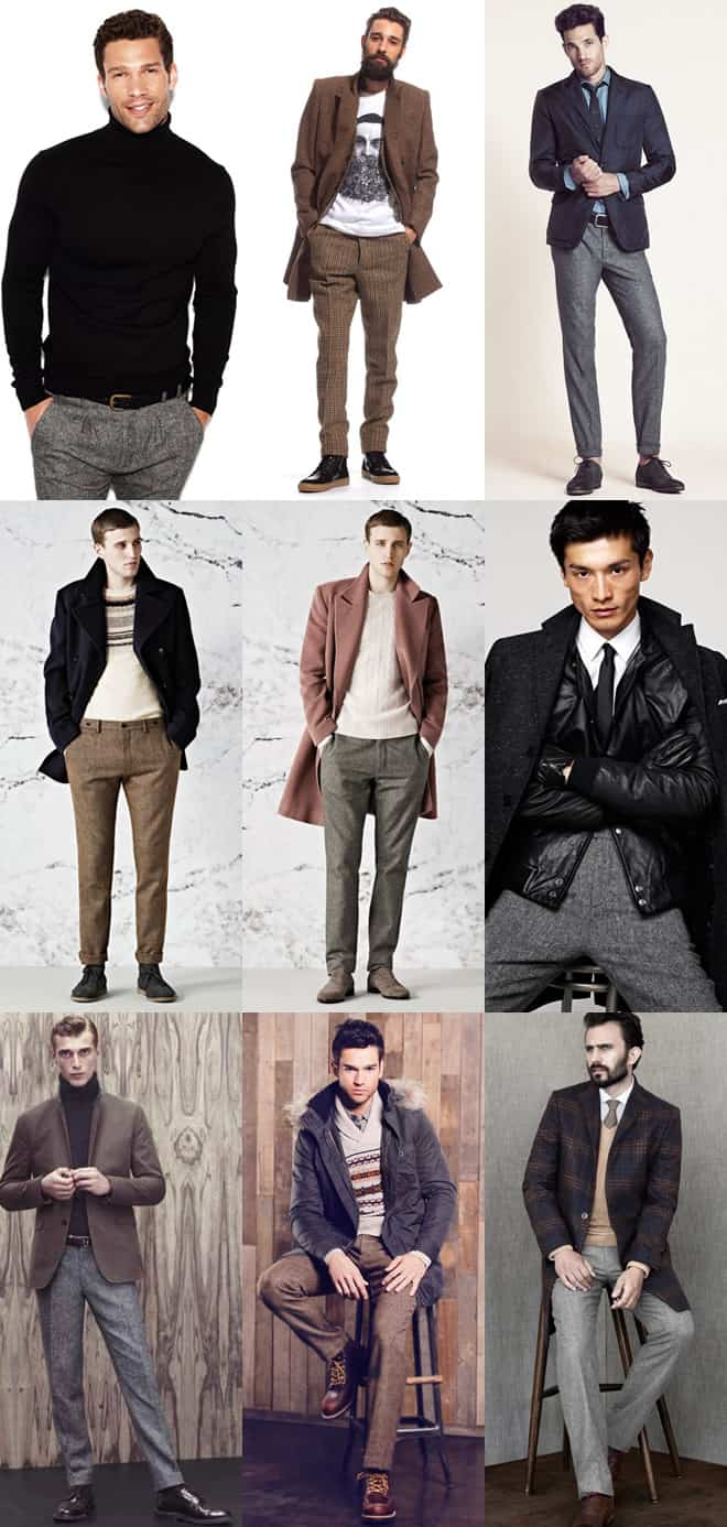 Men's Tweed Trousers Lookbook