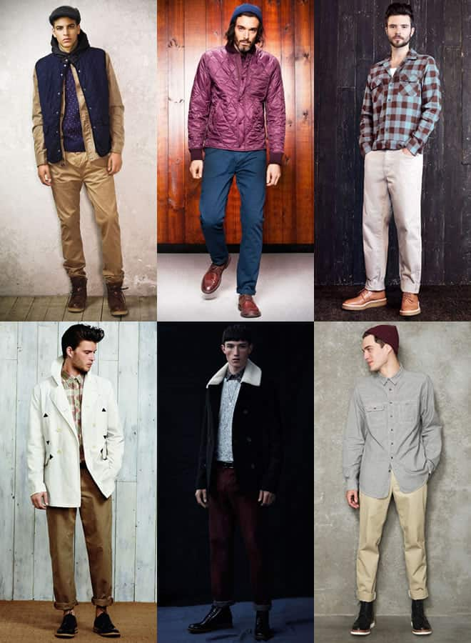Men's Workwear Chinos Lookbook