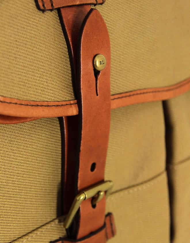 Polo Ralph Lauren Highland Khaki Messenger Bag