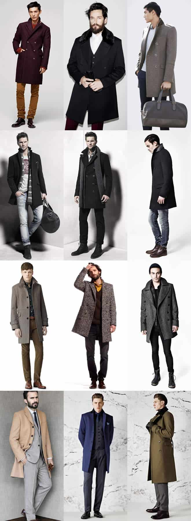 Men's Overcoat Lookbook