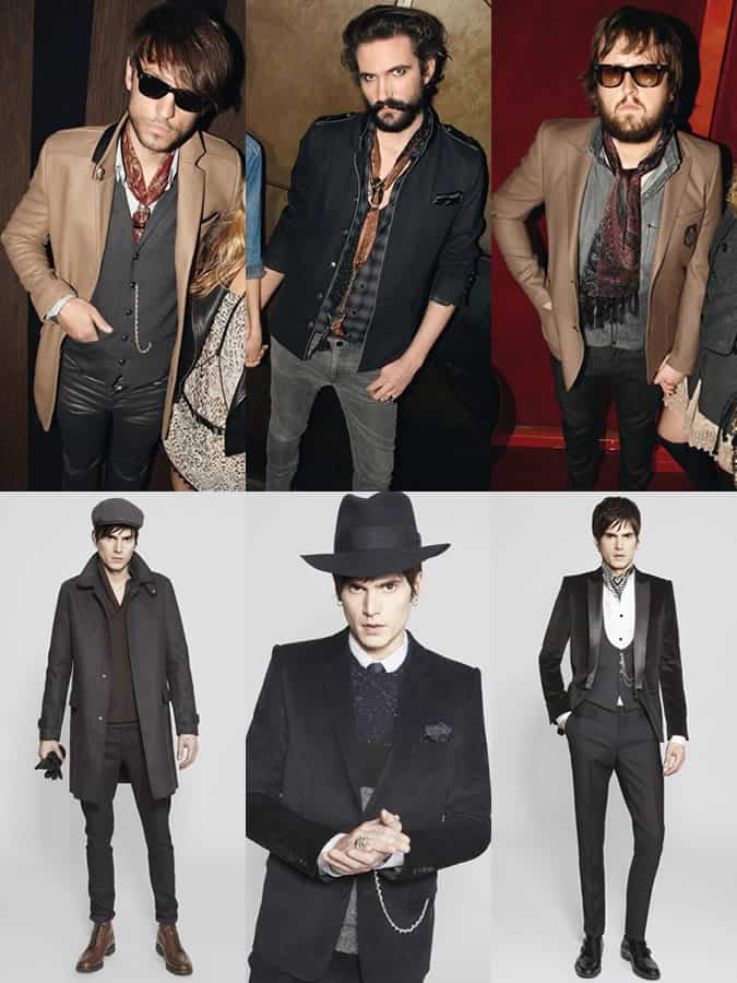 The Kooples Advertising and Lookbook Campaigns
