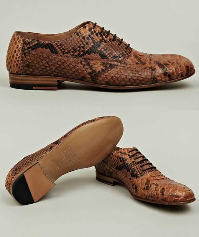 Maison Martin Margiela 22 Men's Python Skin Shoes