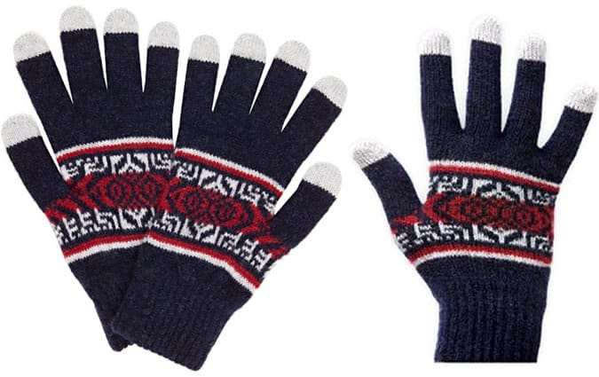 Etre Fair Isle Touchscreen Gloves