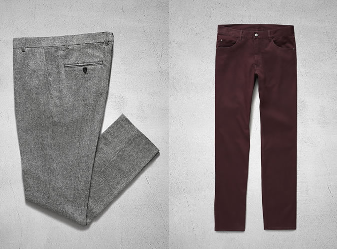 H&M Autumn 2013 Trousers & Chinos Highlights For Men