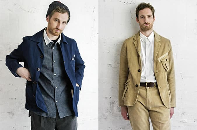 Universal Works aw12 lookbook