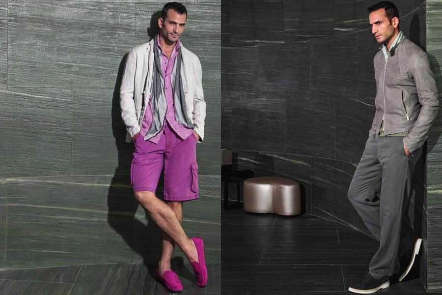 Armani Collezioni Spring/Summer 2013 Men's Lookbook - Image #9