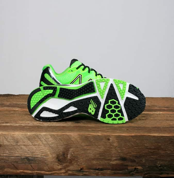 New Balance M890 Running Trainer - Lumo Green