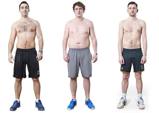 Maximuscle Protein Project Challengers - Starting Photographs