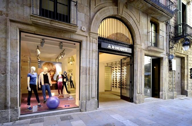 Le Coq Sportif Store opening Barcelona