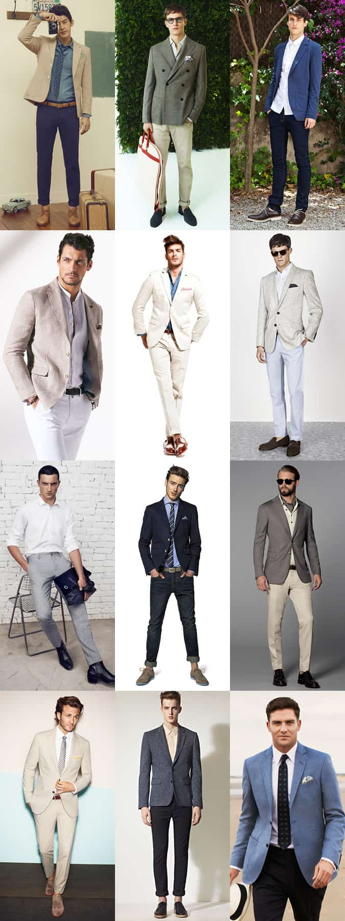 mens business casual lookbook for springsummer - Business Casual Men Business Casual Attire For Men