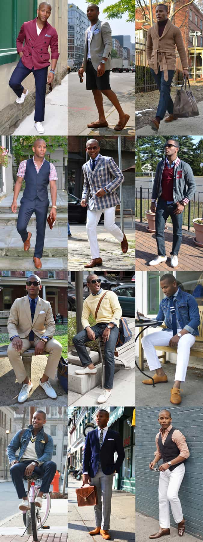 Sabir Peele Fashion & Style Lookbook