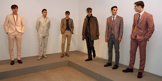 Gieves & Hawkes SS14 – London Collections: MEN