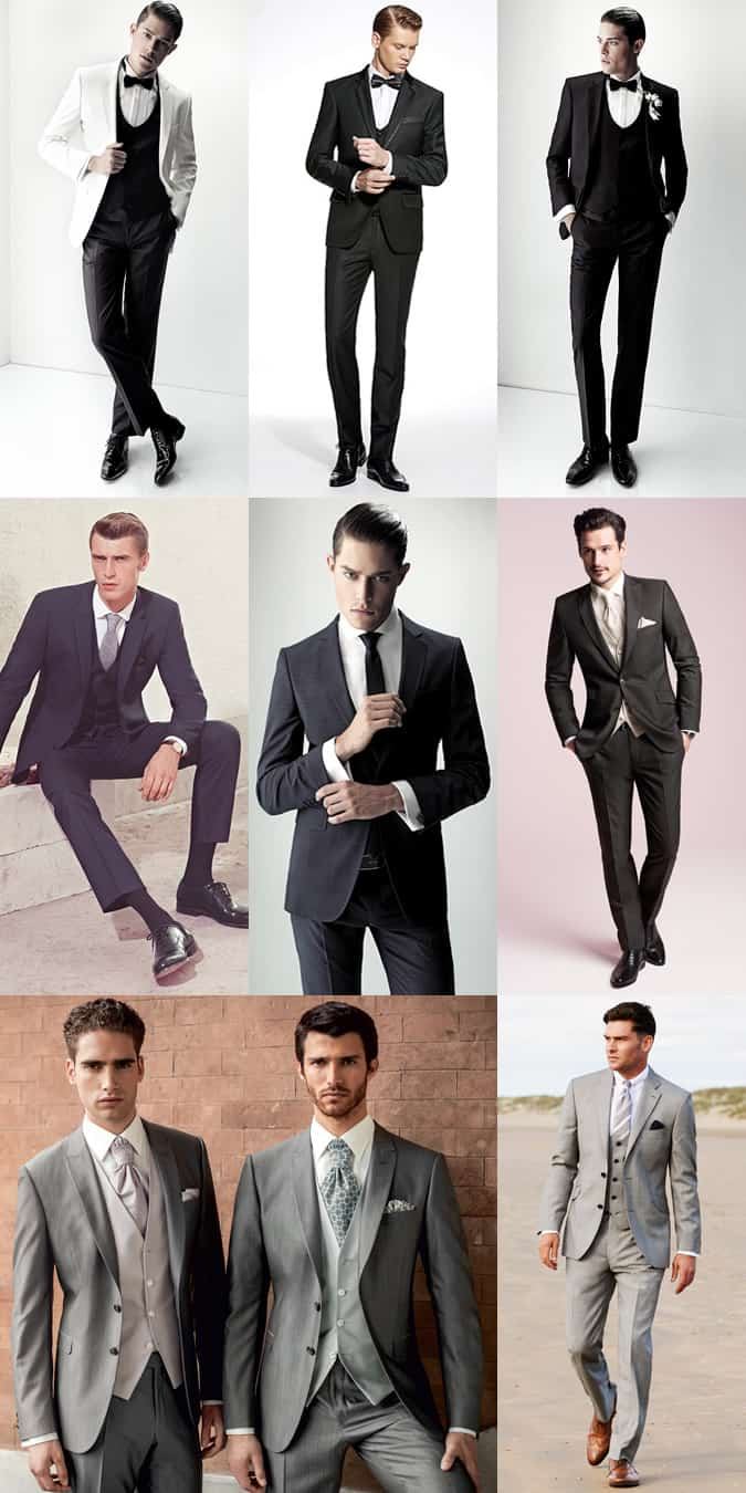 Men's Formal Wedding Suits Inspiration