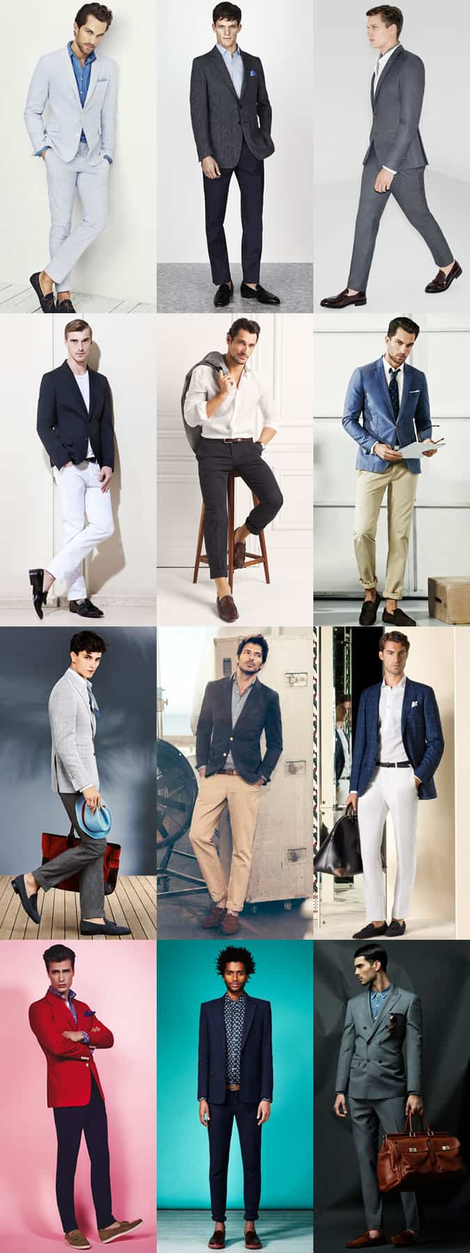 Men's Business-Casual and Formal Travelling Outfits