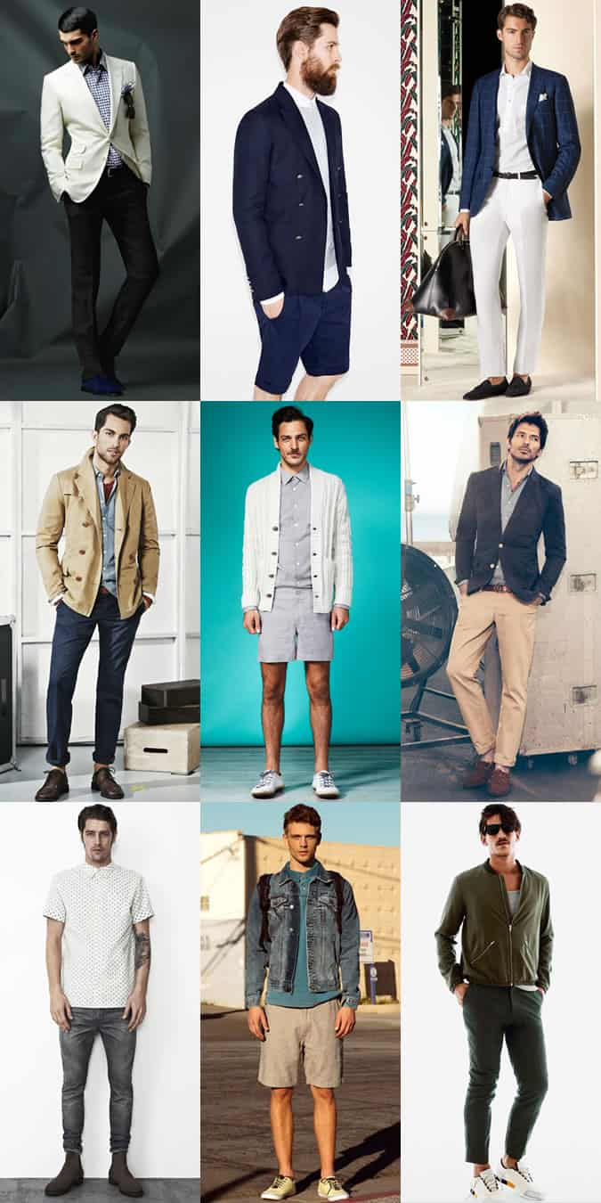 3 Ways To Wear Printed Shirts, Shorts and Chinos/Trousers