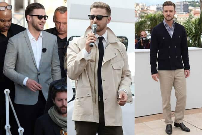 Justin Timberlake Outfits At Cannes 2013