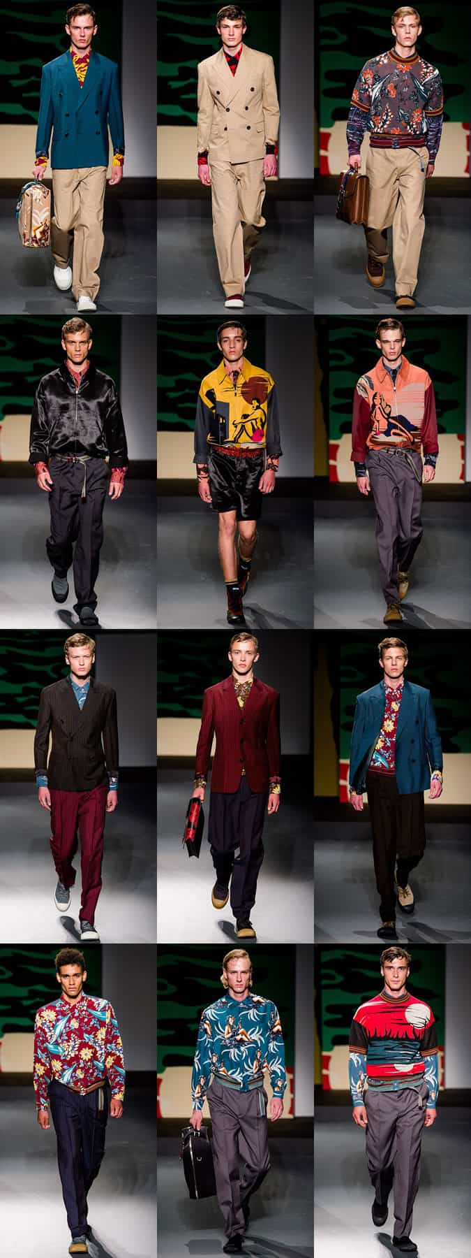 Prada SS14 - Milan Fashion Week