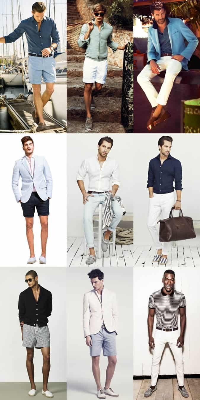 Men's Riviera Style - Trousers, Shorts & Swimwear Lookbook